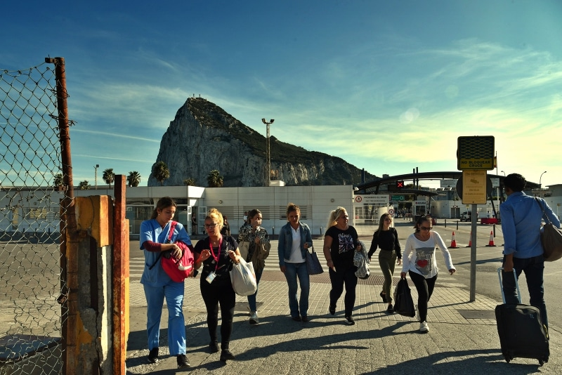 Gibraltar-Trabajadoras